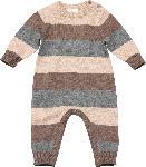 dm-drogerie markt ALANA Baby Overall, Gr. 56, in Bio-Baumwolle und Wolle, braun, grau, für Mädchen und Jungen