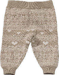 ALANA Baby Hose, Gr. 62, in Bio-Baumwolle, beige