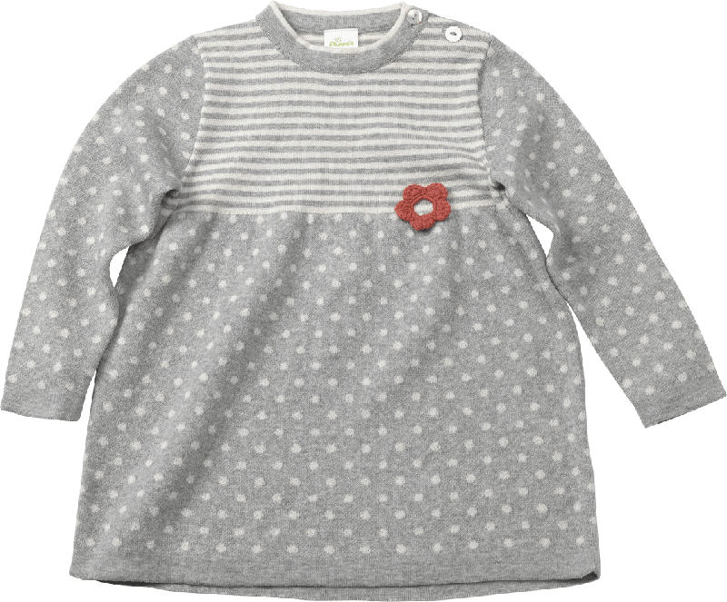 ALANA Kinder Shirt, Gr. 98, in Bio-Baumwolle, grau