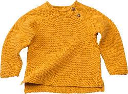 ALANA Baby Pullover, Gr. 86, in Bio-Baumwolle, gelb
