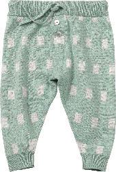 ALANA Baby Hose, Gr. 68, in Bio-Baumwolle und Wolle, grün