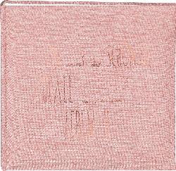 Paradies Fotoalbum 25x25 LHM Leinen rosa