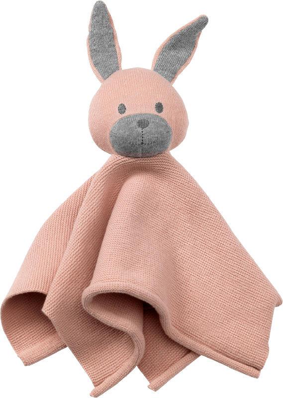 ALANA Schmusetuch Hase, rosa