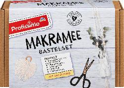 Profissimo Makramee Bastelset Blumenampel und Feder