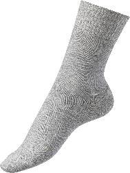 FASCÍNO Diabetiker Socken, grau, Gr. 35-38