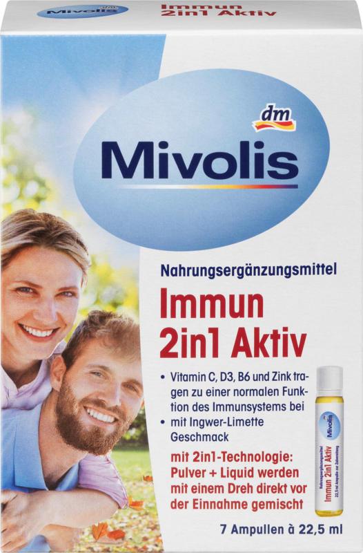 Mivolis Immun 2in1 Aktiv Ampullen 7 St.