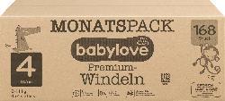 babylove Windeln Premium Gr. 4, Maxi, 8-14 kg, Monatspack