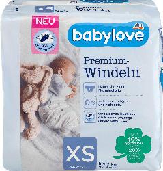 babylove Windeln Premium Gr. XS, Newborn XS, bis 3 kg