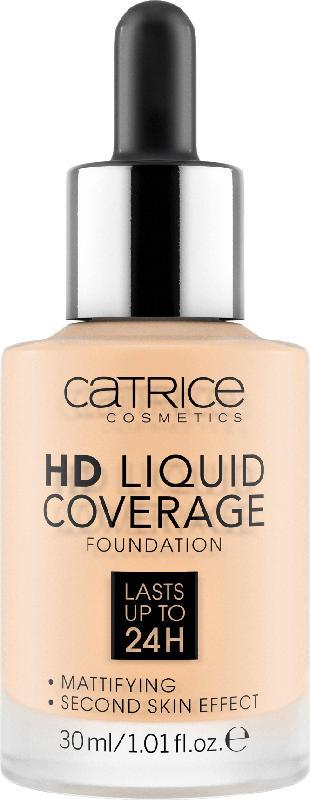 Catrice Make-up HD Liquid Coverage Foundation Porcelain Beige 002