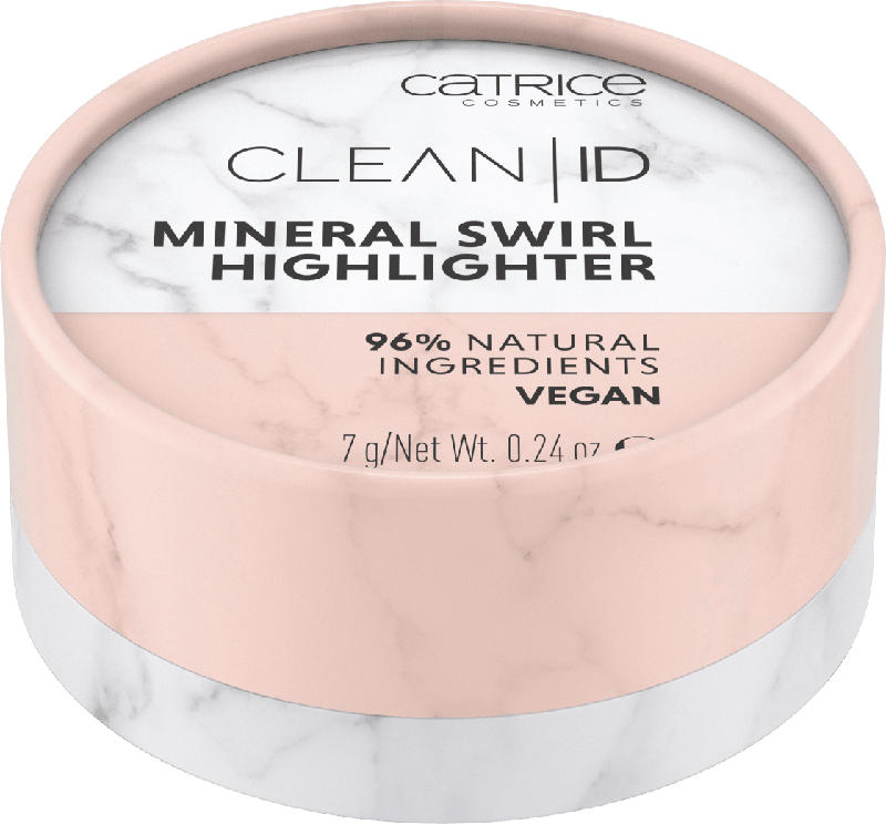 Catrice Highlighter Clean ID Mineral Swirl Silver Rose 010