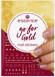 essence cosmetics Nagelsticker go for Gold nail stickers