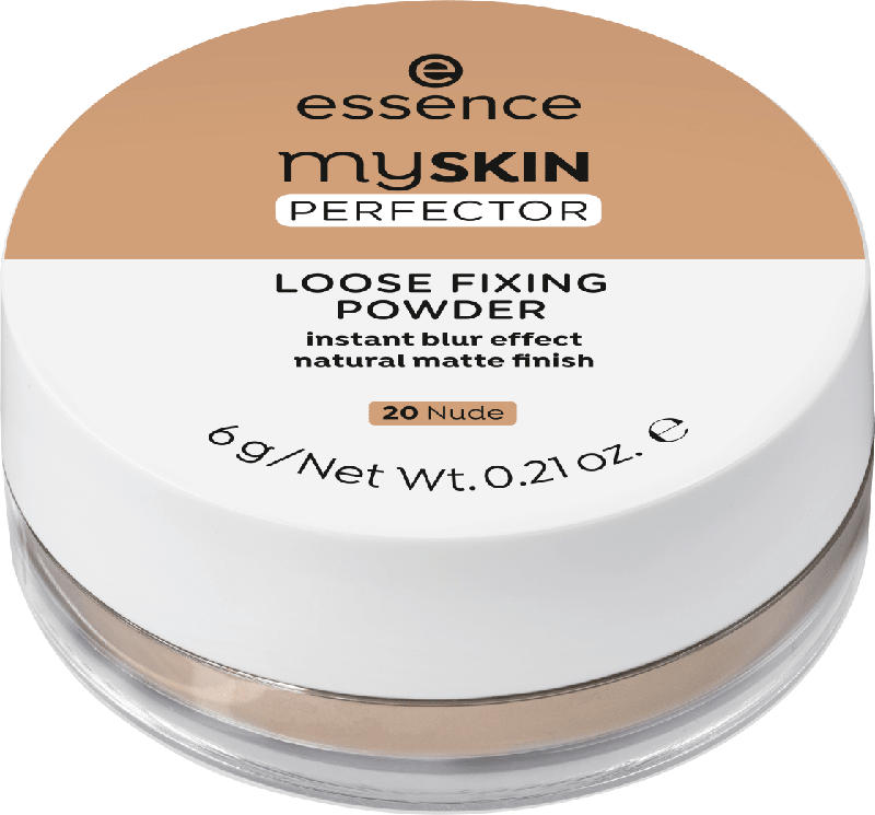essence cosmetics Puder my SKIN PERFECTOR LOOSE FIXING POWDER Nude 20