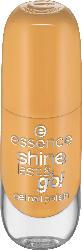 essence cosmetics Nagellack shine last & go! gel nail polish Walking On Sunshine 62