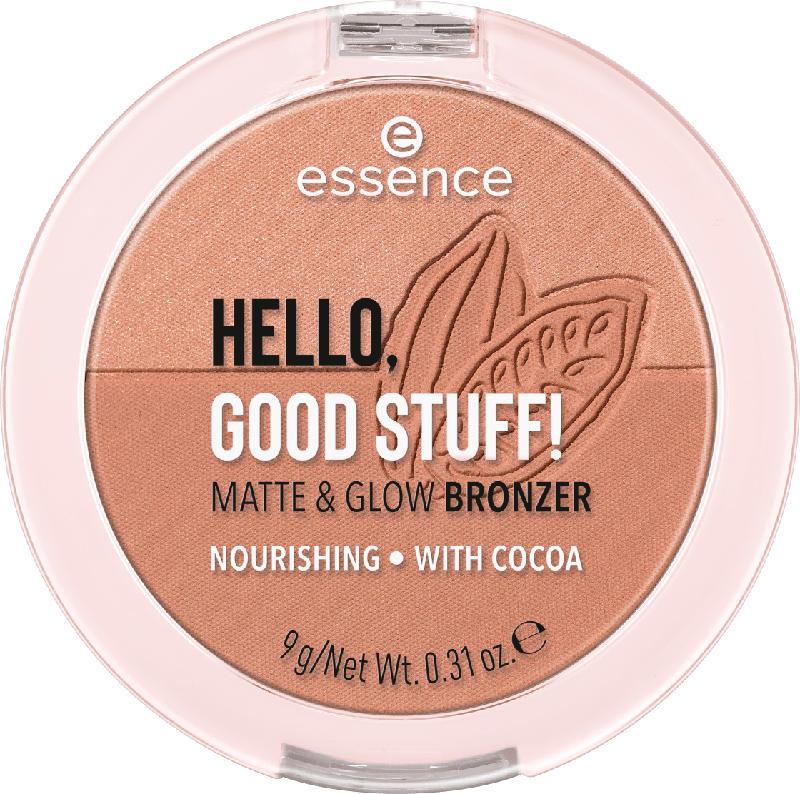 essence cosmetics Bronzer hello, good stuff! matte & glow bronzer Cocoa-kissed 20