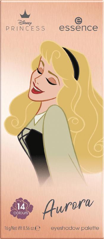essence cosmetics Lidschattenpalette Disney Princess Aurora eyeshadow palette Once upon a dream 03