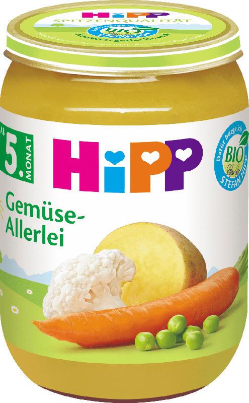 Hipp Gemüse-Allerlei, ab dem 5. Monat