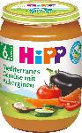 dm-drogerie markt Hipp Gemüse Mediterranes Gemüse mit Auberginen ab 6. Monat