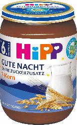 Hipp Abendbrei Gute Nacht 7-Korn ab 6. Monat