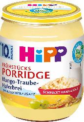 Hipp Frühstücks-Porridge Mango-Traube-Haferbrei ab 10. Monat
