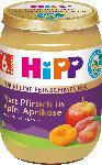 dm-drogerie markt Hipp Früchte Platt-Pfirsich in Apfel-Aprikose, ab 6.Monat