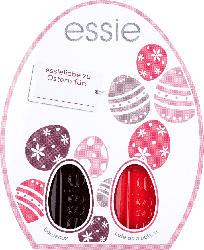 essie Oster Set (bordeaux + cute as a button)
