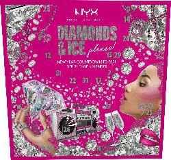 NYX PROFESSIONAL MAKEUP Adventskalender 2020 Diamonds & Ice 31 Türen