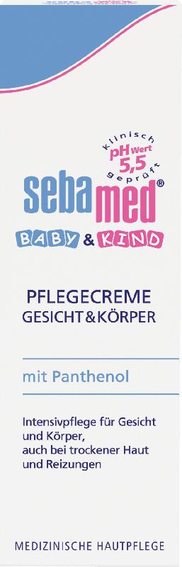sebamed Pflegecreme  Gesicht & Körper Baby & Kind