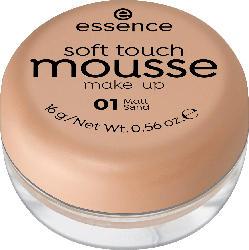 essence cosmetics Make-up soft touch mousse matt sand 01