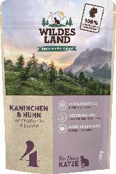 Wildes Land Nassfutter für Katzen mit Kaninchen & Huhn, Nr. 4