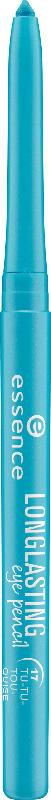 essence cosmetics Kajal long lasting eye pencil tu-tu-tourquoise 17