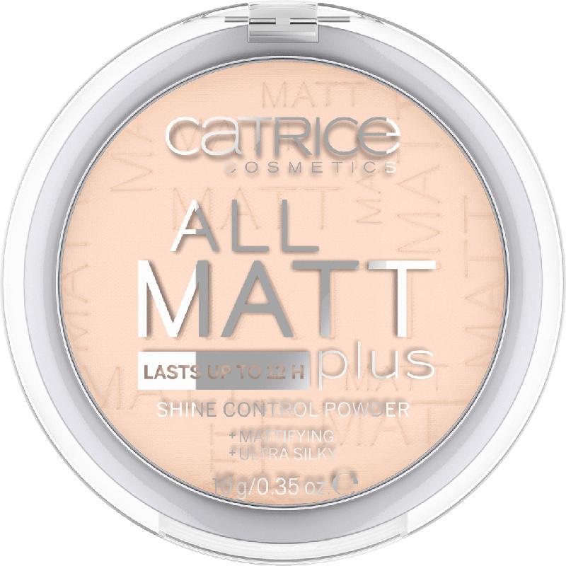 Catrice Puder All Matt Plus Shine Control Powder Transparent 010