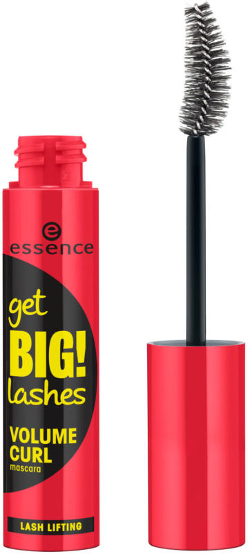 essence cosmetics Wimperntusche get BIG! LASHES volume CURL mascara