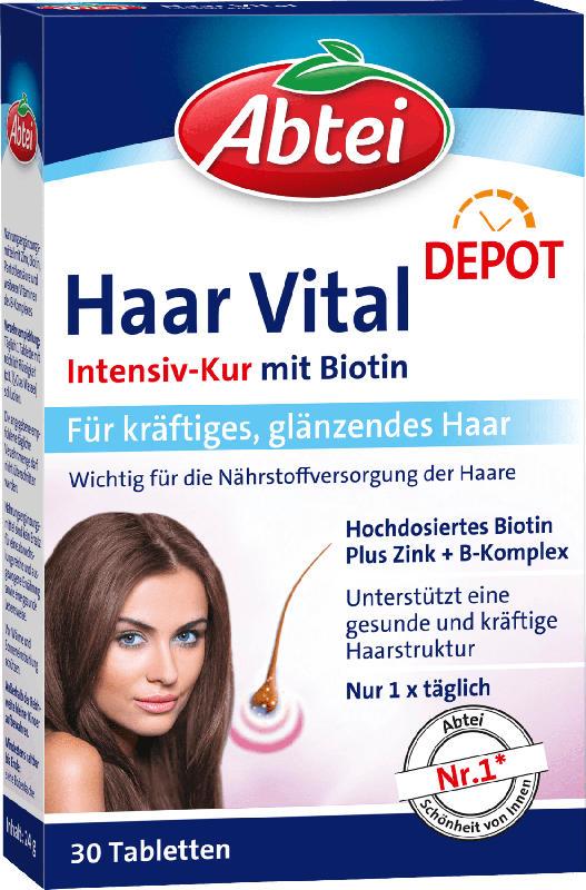 Abtei Haar Vital Tabletten 30 St.