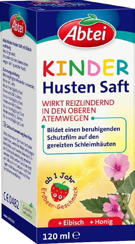 Abtei Kinder Hustensaft Honig Eibisch