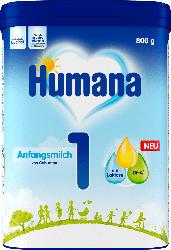 Humana Anfangsmilch 1 von Geburt an
