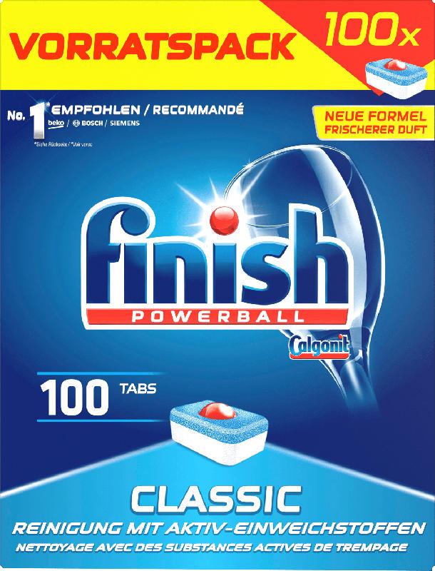 finish Spülmaschinen-Tabs Classic Vorratspack