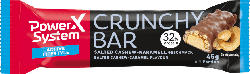 PowerSystem Protein-Riegel, Crunchy Bar, Salted Cashew-Karamell