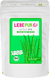 Lebepur Superfood Pulver, Gerstengras