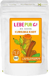 Lebepur Superfood Pulver, Kurkuma Shot