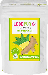 Lebepur Superfood Pulver; Ingwer Shot