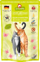 GranataPet Nassfutter für Katzen, Adult, Fasan & Kaninchen
