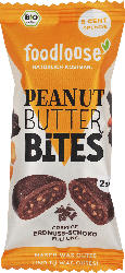 foodloose Peanut Butter Bites Erdnuss-Schoko
