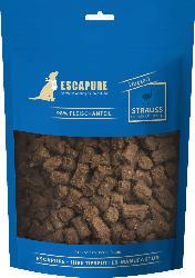 Escapure Snack für Hunde, Adult, Straussen Hupferl