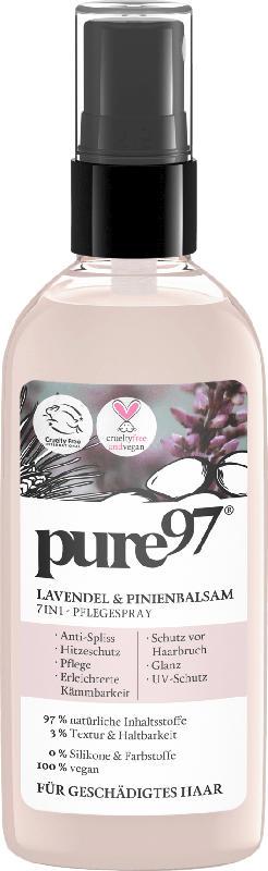 pure97 Lavendel und Pinienbalsam 7in1 Spray