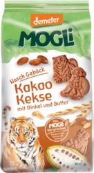 MOGLi Keks Nasch Gebäck Kakao Kekse