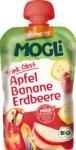 dm-drogerie markt MOGLi Quetschbeutel Trink-Obst Apfel Banane Erdbeere ab 1 Jahr