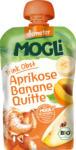 dm-drogerie markt MOGLi Quetschbeutel Trink Obst Aprikose Banane Quitte ab 1 Jahr
