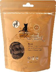 catz finefood Snack für Katzen, Hirsch-Streifen getrocknet, Meatz N°9