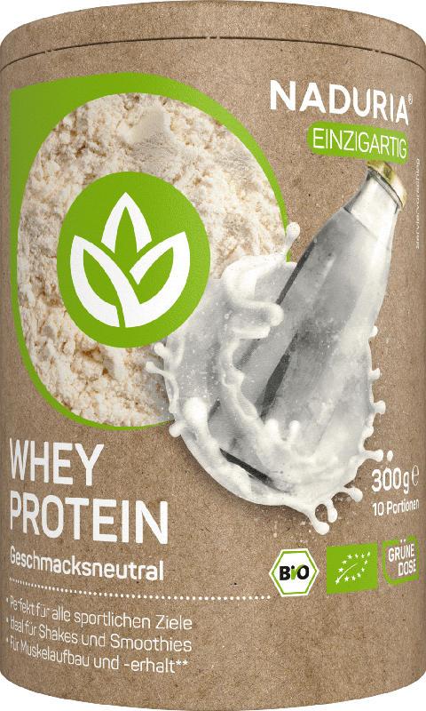 Naduria Whey Protein, geschmacksneutral