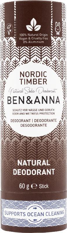 Ben&Anna Deo Stick Deodorant Nordic Timber